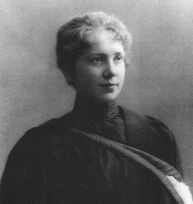 Harriet Brooks' grad photo
