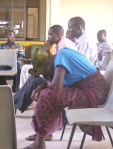 As this woman experienced at a rights-based development workshop in Tema, Ghana, development work can be tiring and frustrating. But that's not the whole picture.