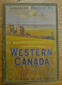 "A guide entitled ""Western Canada"" produced by Canadian Pacific Railways"